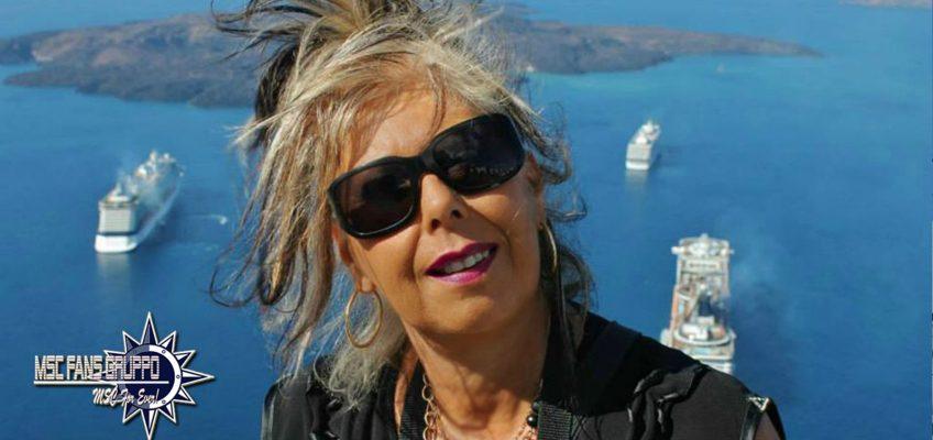 MSC Crociere e mete! Meravigliosa Santorini.