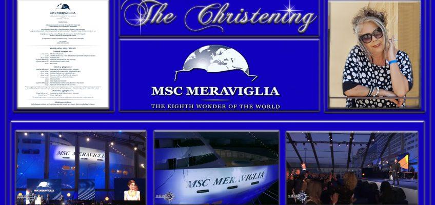 MSC Meraviglia! Il Team di MSC Fans presente al battesimo della meraviglia delle meraviglie!